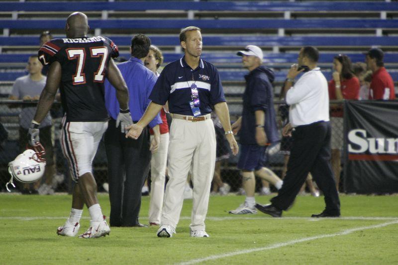 FAU Football vs Louisiana 2004-Oct-23 0728