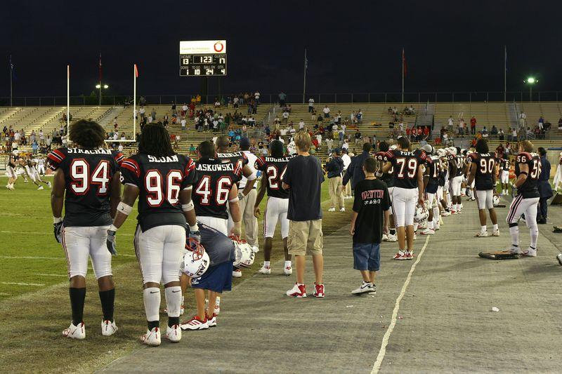 FAU Football vs Louisiana 2004-Oct-23 0880
