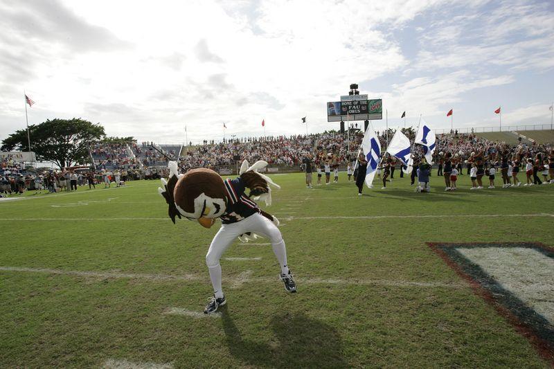FAU Football vs Louisiana 2004-Oct-23 0123