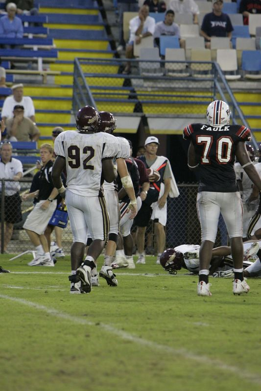 FAU Football vs Louisiana 2004-Oct-23 0640