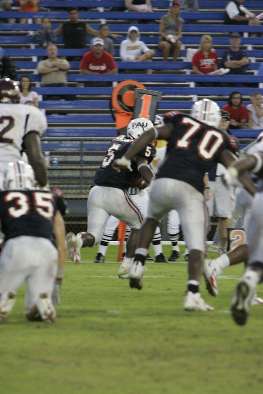 FAU Football vs Louisiana 2004-Oct-23 0639