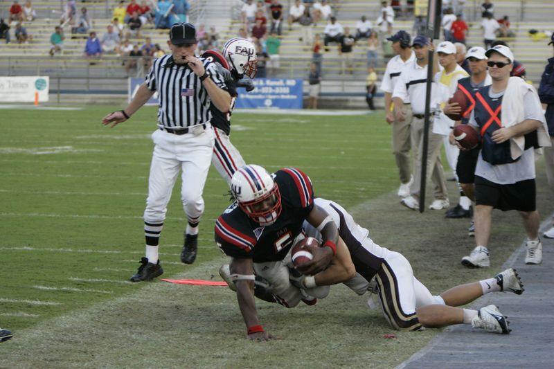 FAU Football vs Louisiana 2004-Oct-23 0521