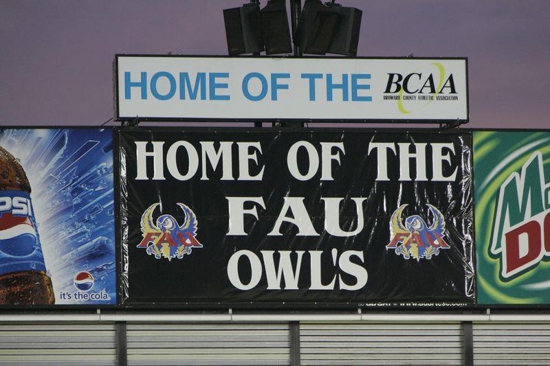 FAU Football vs Louisiana 2004-Oct-23 0713