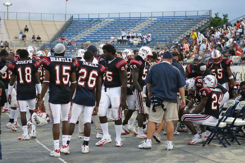 FAU Football vs Louisiana 2004-Oct-23 0856