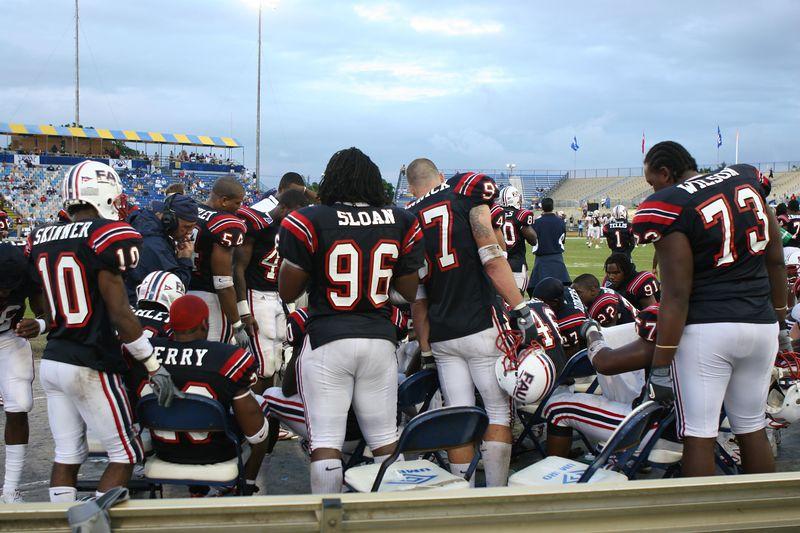 FAU Football vs Louisiana 2004-Oct-23 0862