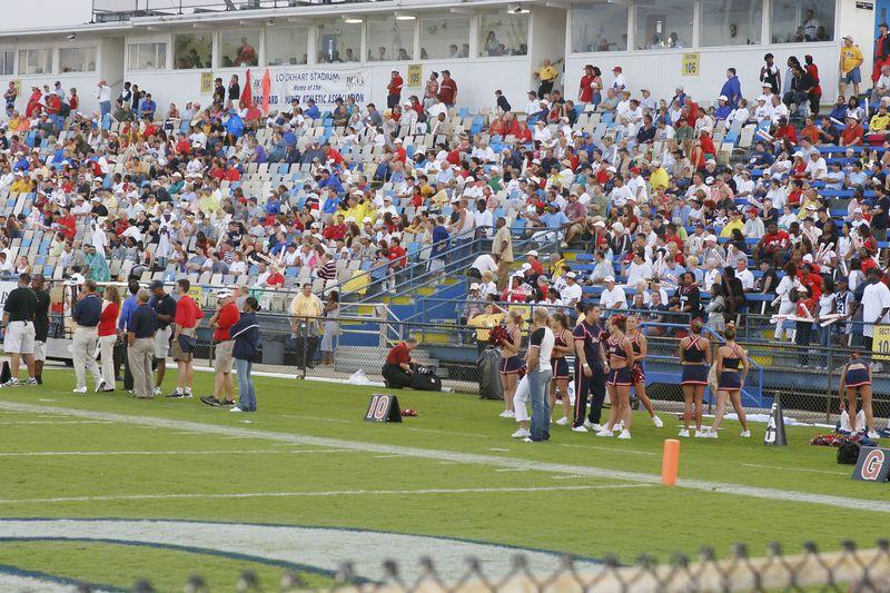 FAU Football vs Louisiana 2004-Oct-23 0111