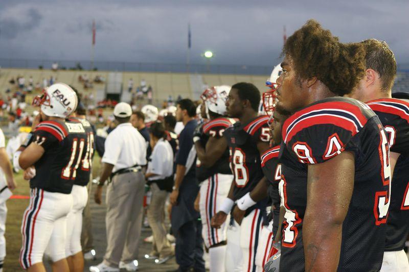FAU Football vs Louisiana 2004-Oct-23 0872