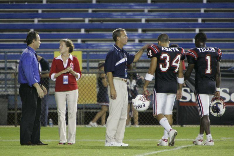 FAU Football vs Louisiana 2004-Oct-23 0730
