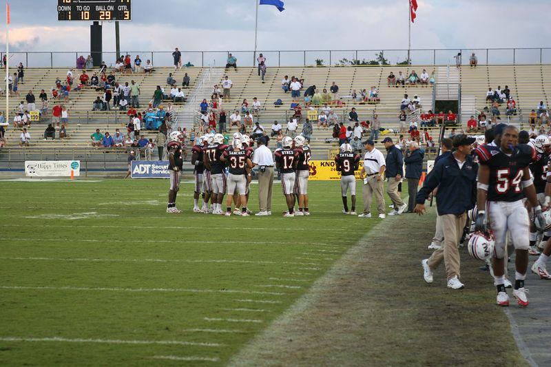 FAU Football vs Louisiana 2004-Oct-23 0855