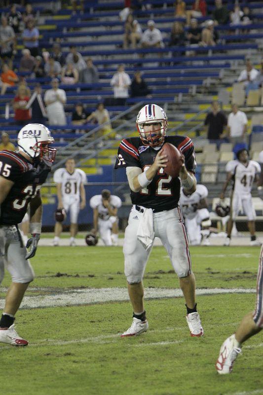 FAU Football vs Louisiana 2004-Oct-23 0711