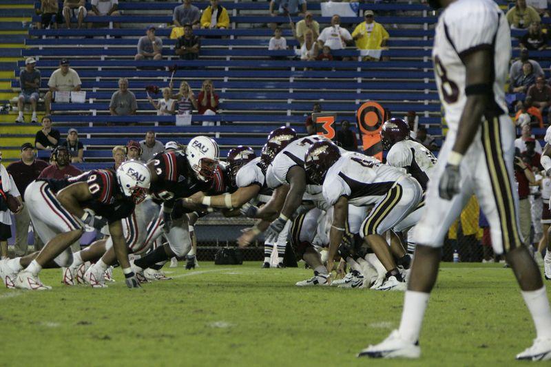 FAU Football vs Louisiana 2004-Oct-23 0662