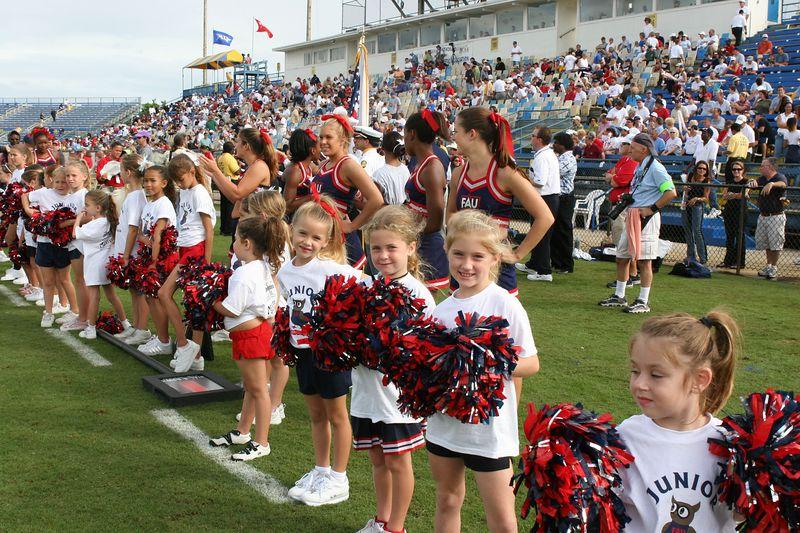 FAU Football vs Louisiana 2004-Oct-23 0743