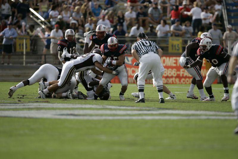 FAU Football vs Louisiana 2004-Oct-23 0245