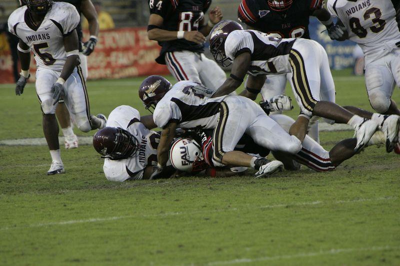 FAU Football vs Louisiana 2004-Oct-23 0626