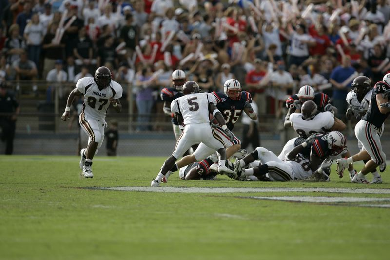 FAU Football vs Louisiana 2004-Oct-23 0232