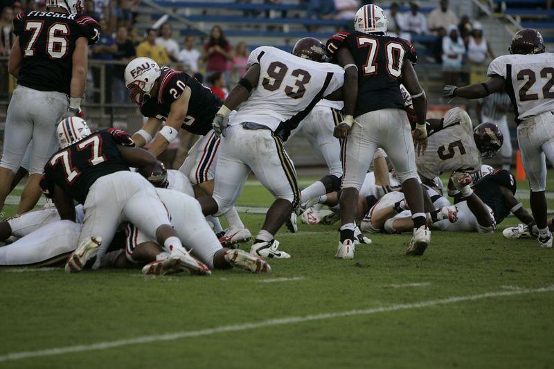 FAU Football vs Louisiana 2004-Oct-23 0443