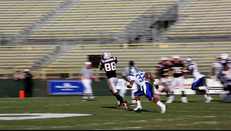FAU Football vs MTSU 2009 Oct video Clip -  (8)