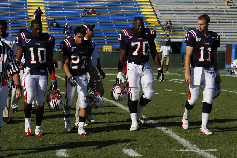 FAU Football vs Middle Tennessee Blue Raiders 2009 Oct -  (2)