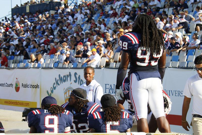 FAU Football vs Middle Tennessee Blue Raiders 2009 Oct -  (37)