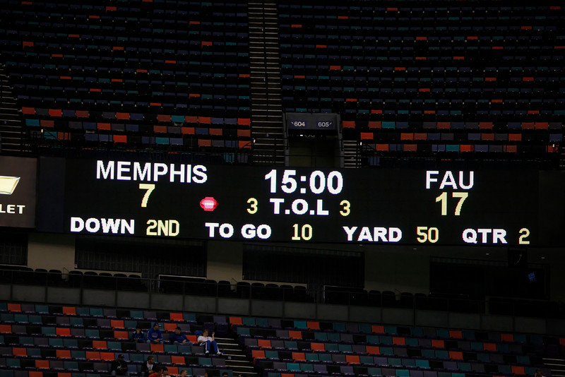 FAU vs MU 21Dec2007 NewOrleans BOWL- (877)NR