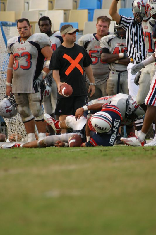 FAU Football vs Nicholls State 11-Oct-03 - 0028