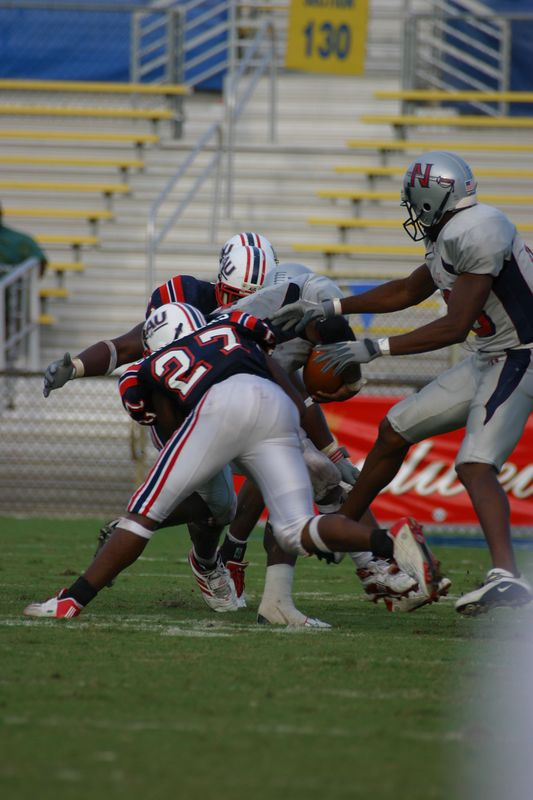 FAU Football vs Nicholls State 11-Oct-03 - 0046