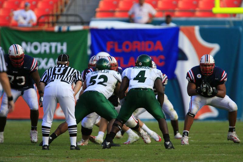 FAU Football vs Northern Texas (1123)
