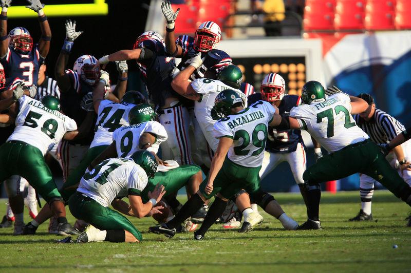 FAU Football vs Northern Texas (1209)