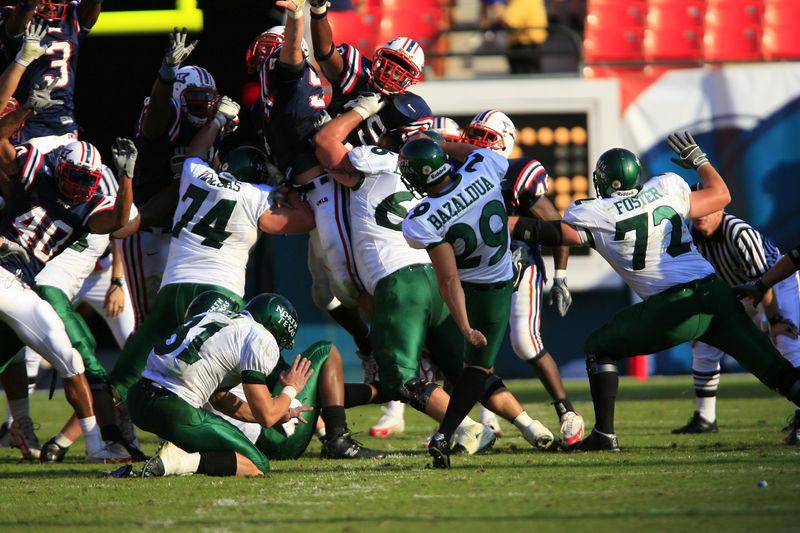 FAU Football vs Northern Texas (1211)