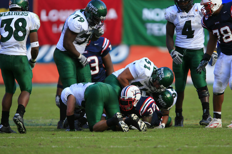 FAU Football vs Northern Texas (1145)