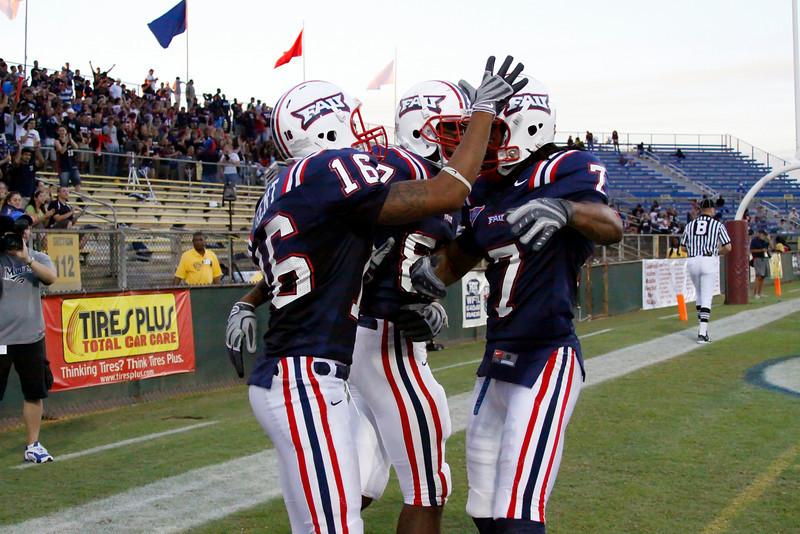 FAU Football vs North Texas 2008NOV08-   (387)N