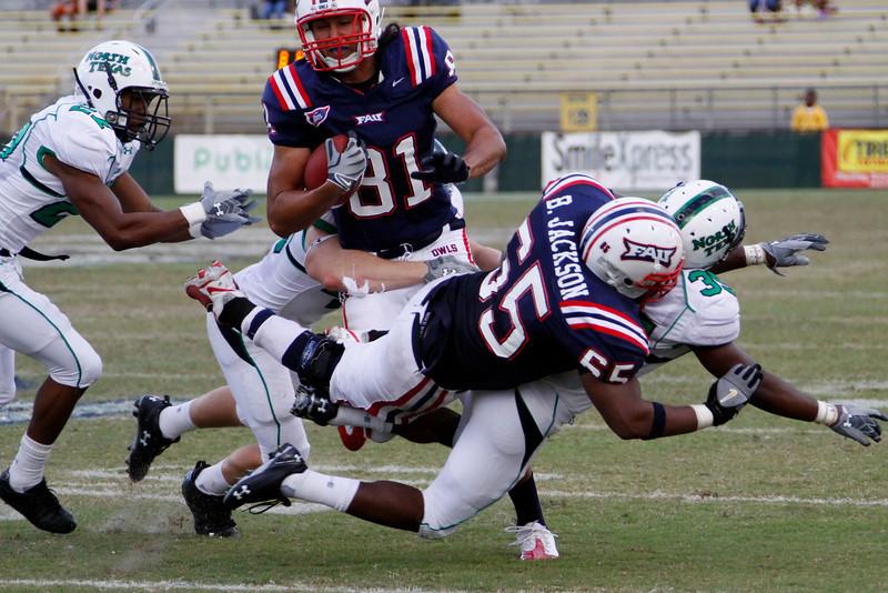 FAU Football vs North Texas 2008NOV08-   (232)N