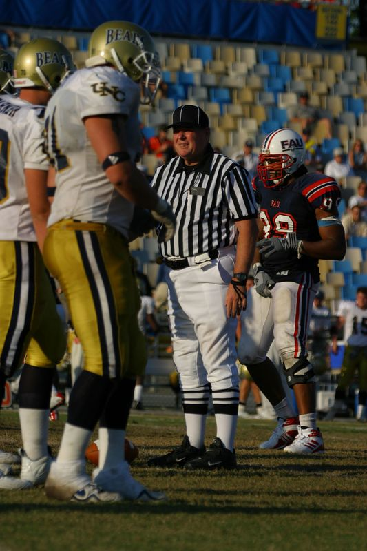 FAU Football vs Northern Colorado 18-Oct-03 - 0207