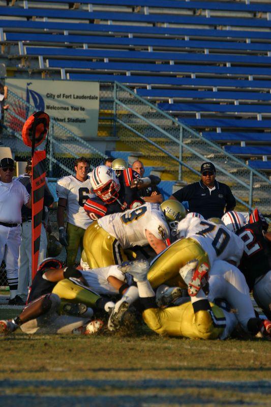 FAU Football vs Northern Colorado 18-Oct-03 - 0132