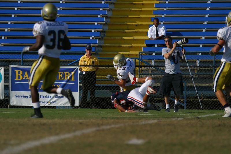 FAU Football vs Northern Colorado 18-Oct-03 - 0257