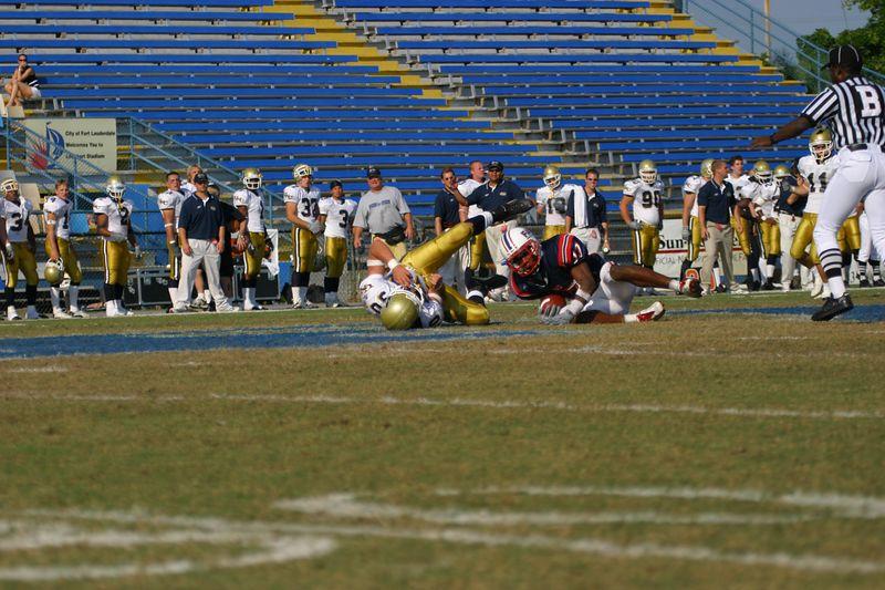 FAU Football vs Northern Colorado 18-Oct-03 - 0252