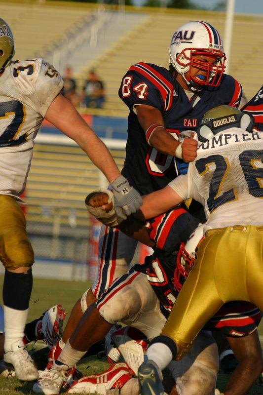 FAU Football vs Northern Colorado 18-Oct-03 - 0120