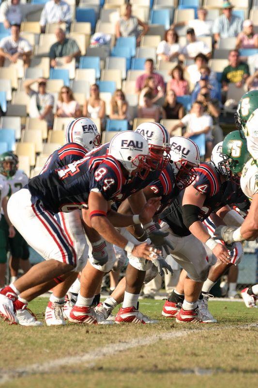 FAU Football vs Siena 15nov03 - 0066