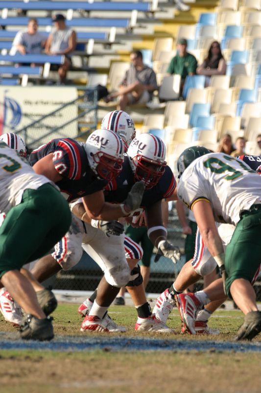 FAU Football vs Siena 15nov03 - 0057