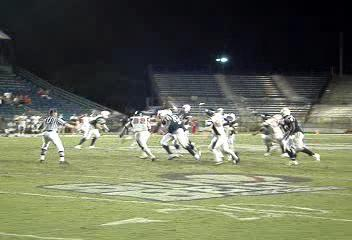 This short video-clip has a duration of 15 seconds; is a 2.6MB file, taken at 9:24pm game day.