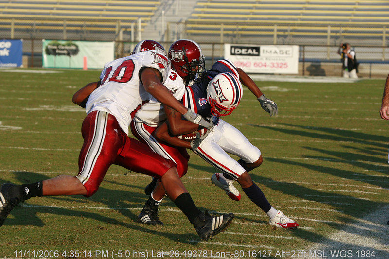 FAU Football vs Troy Trojans 2006NOV11- (456)
