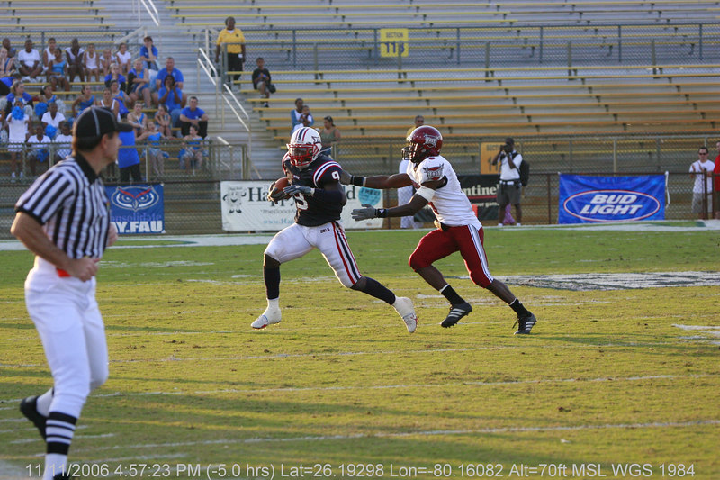 FAU Football vs Troy Trojans 2006NOV11- (639)