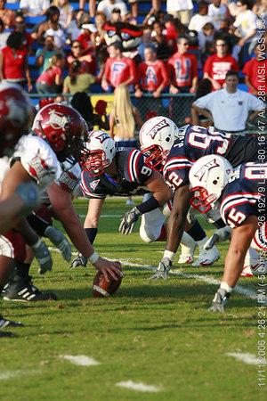 FAU Football vs Troy Trojans 2006NOV11- (389)