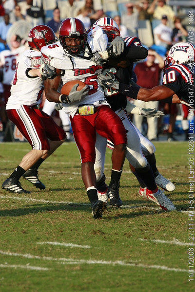 FAU Football vs Troy Trojans 2006NOV11- (393)