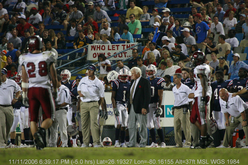 FAU Football vs Troy Trojans 2006NOV11- (1063)