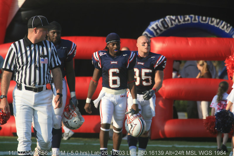 FAU Football vs Troy Trojans 2006NOV11- (116)