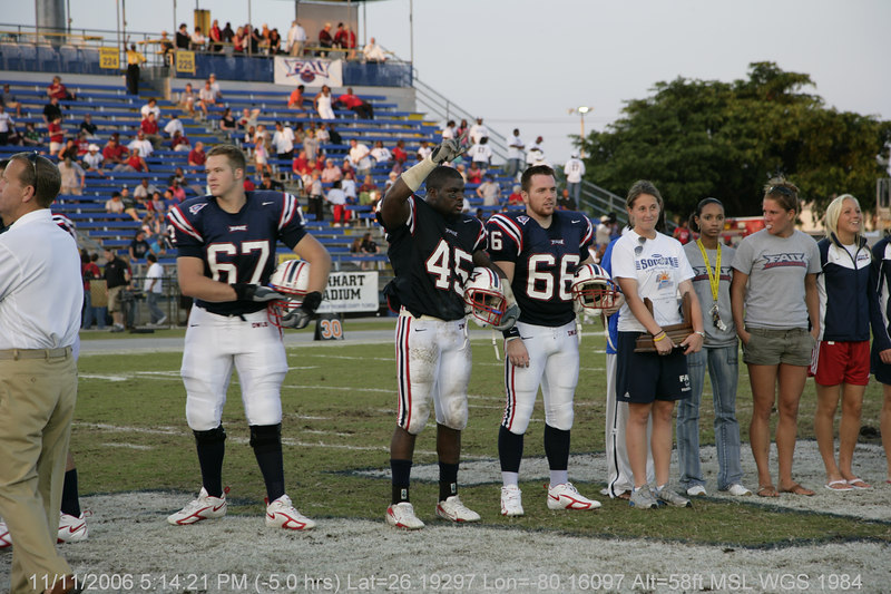 FAU Football vs Troy Trojans 2006NOV11- (787)