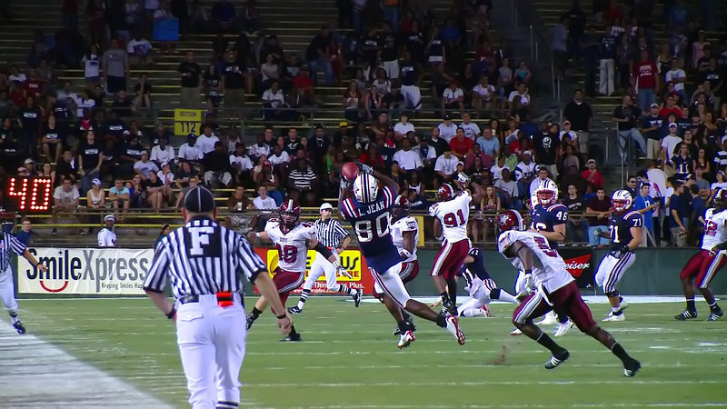 FAU 80 pass completion 2N