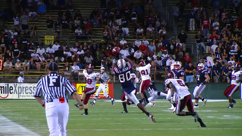 FAU 80 pass completion 1N
