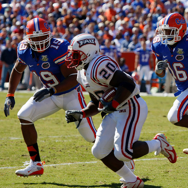FAU vs UF 17NOV07 -  (525)sq